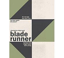 Blade Runner - Minimal Photographic Print