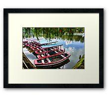 Burnham Park, Baguio City Framed Print