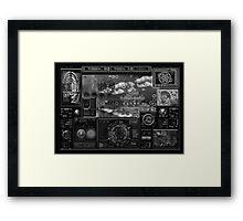©DA Instruments IADrc Monochromatic Framed Print