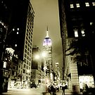 Midnight Ghosts in New York by Andrew Wilson