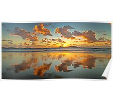 Sunset at Whisky Bay - Wilsons Prom Poster