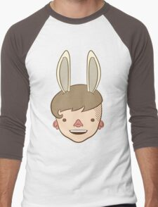 Bunny Bunny Bunny Bunny BUH-NEH! Men's Baseball ¾ T-Shirt