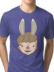 Bunny Bunny Bunny Bunny BUH-NEH! Tri-blend T-Shirt