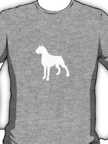 Boxer Dog Plain  T-Shirt