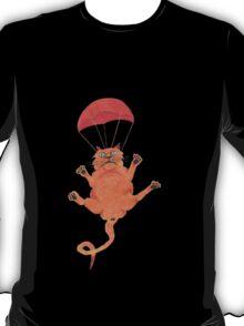 parachute cat T-Shirt