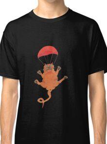 parachute cat Classic T-Shirt