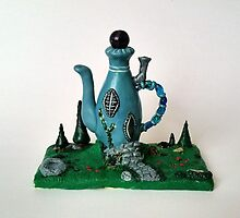 Blue Teapot House by megandresback