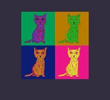 Grumpy and Annoyed Cat Pop Art Unisex T-Shirt