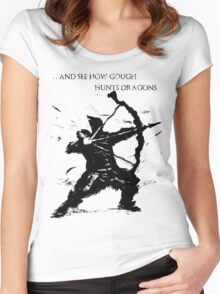Hawkeye Gough Women's Fitted Scoop T-Shirt