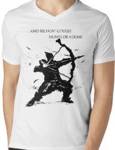 Hawkeye Gough Mens V-Neck T-Shirt