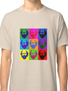 Allen Ginsberg b/w Andy Warhol Classic T-Shirt