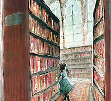 The Library by petitfour