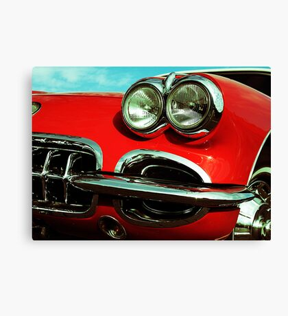 Little Red Canvas Print