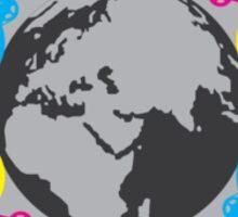 World Ride Sticker Sticker