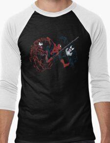 Spider-Man vs Venom and Carnage Men's Baseball ¾ T-Shirt