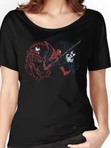 Spider-Man vs Venom and Carnage Women's Relaxed Fit T-Shirt