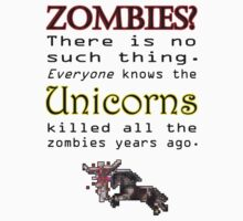 Unicorns killed all the Zombies by bellingk