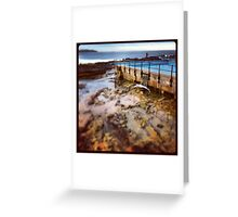 Dee Why Surfer Greeting Card