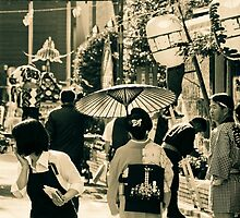 Festival Afternoon In Tokyo by Bryan W. Cole