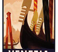 Vintage Italian Travel Poster by georginashford