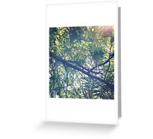 Green Rooftop ~ Greeting Card