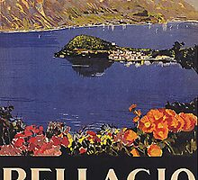 Vintage Italian Travel Poster by georginashford