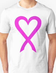 Cancer Pink Ribbon 01 Unisex T-Shirt