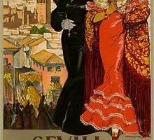 Vintage Spanish Poster by georginashford