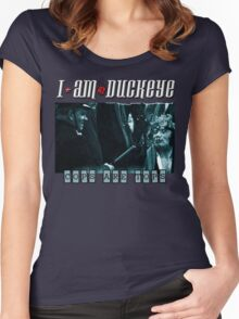 COPS ARE TOPS I am Duckeye Women's Fitted Scoop T-Shirt