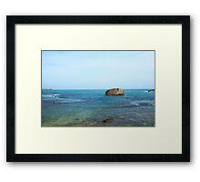 Galle, Sri Lanka  Framed Print