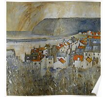 Staithes View Poster