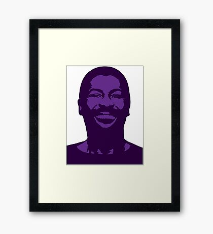 Teddy Pendergrass Framed Print