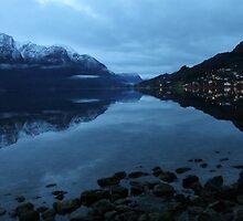 November morning twilight. Luster, west coast of Norway. by UpNorthPhoto