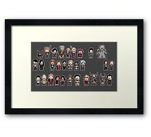 DRAGON AGE characters Framed Print