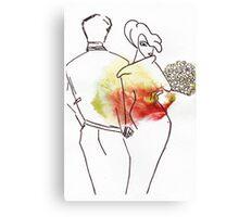 Second Date) Canvas Print