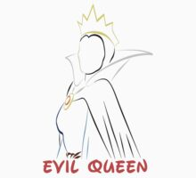 The Evil Queen (Personalized, please Bubblemail/email me before ordering) Kids Tee