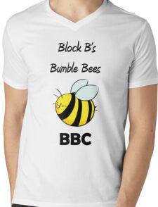 Block B's Bumble Bees Mens V-Neck T-Shirt