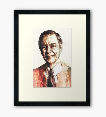 Mr. Rogers Framed Print