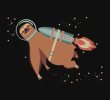 Happy sloth spaceman rocket jet pack by BigMRanch