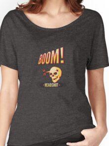 BOOM! Headshot Women's Relaxed Fit T-Shirt