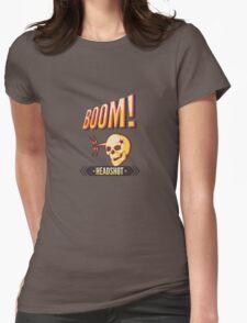 BOOM! Headshot Womens Fitted T-Shirt