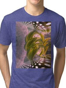 Abstract rings Tri-blend T-Shirt