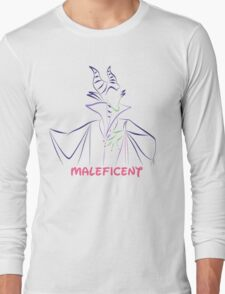 Maleficent (Personalized, please Bubblemail/email me before ordering) Long Sleeve T-Shirt