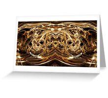 Oro 002 Greeting Card