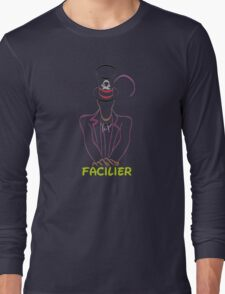 Facilier (Personalized, please Bubblemail/email me before ordering) Long Sleeve T-Shirt