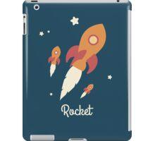 Rocket in space iPad Case/Skin