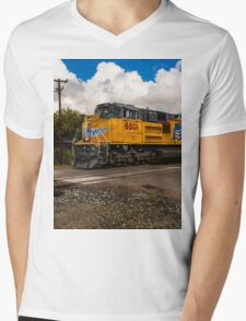 Up Engine 8801 Mens V-Neck T-Shirt