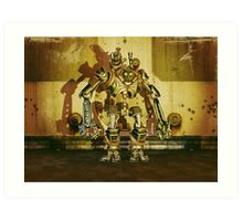 Steampunk Robot - The Nemesis Art Print