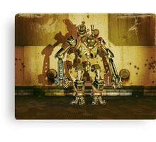 Steampunk Robot - The Nemesis Canvas Print