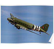 "Douglas Dakota C.3 ZA947 ""Kwicherbischen"" Poster"